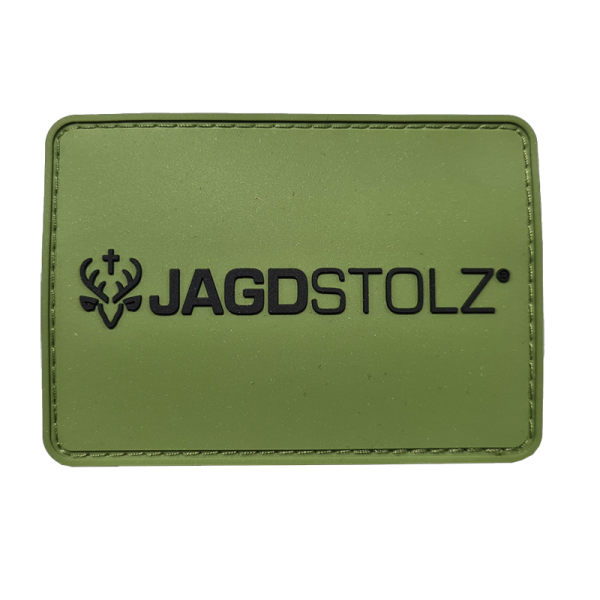"""Jagdstolz Patch """"Logo 21 Black"""""""
