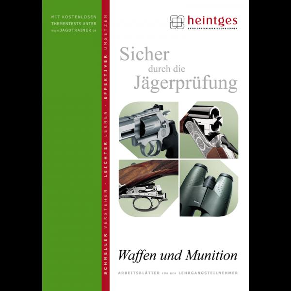 """Arbeitsblätter Jägerprüfung """"Waffen und Munition"""""""