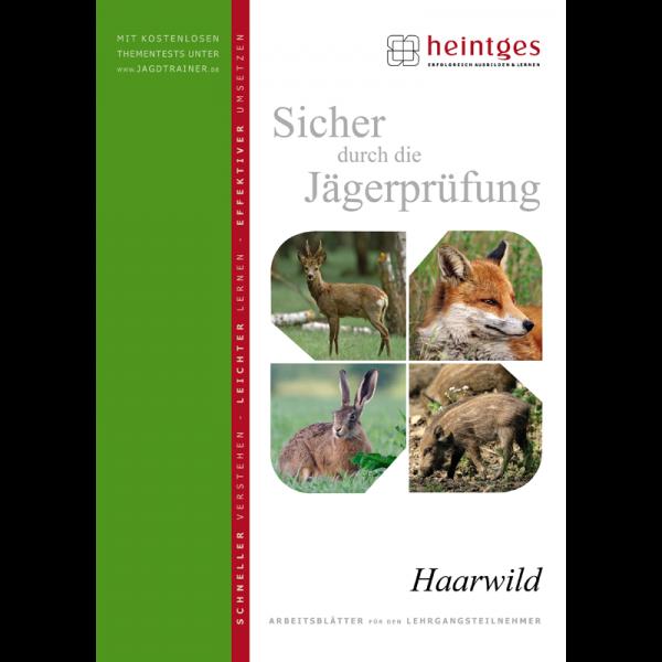 "Arbeitsblätter Jägerprüfung ""Haarwild"""