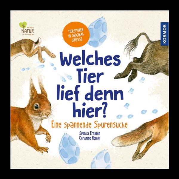"""Kinderbuch """"Welches Tier lief denn hier?"""""""