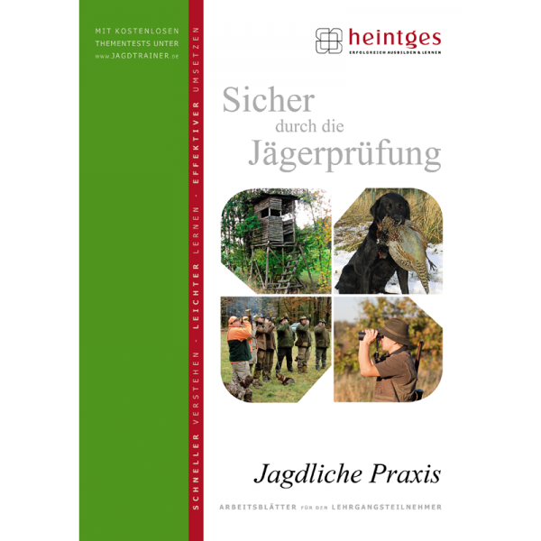 "Arbeitsblätter Jägerprüfung ""Jagdliche Praxis"""