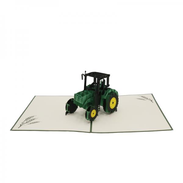 """Pop-up-Karte """"Traktor"""""""