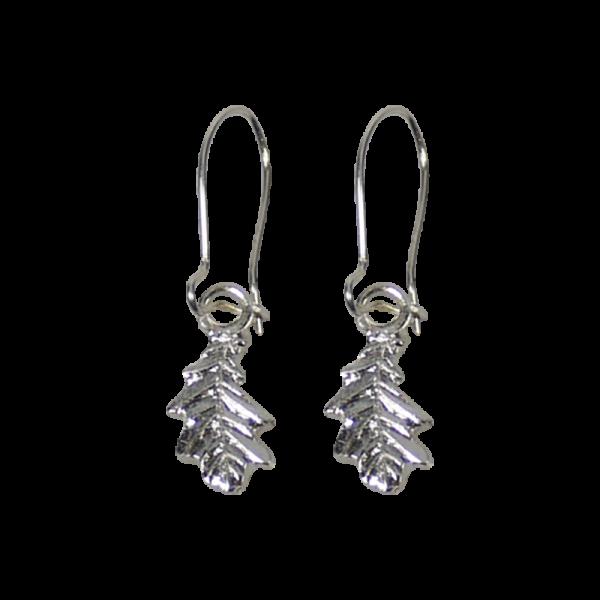 Ohrringpaar - Eichenblatt