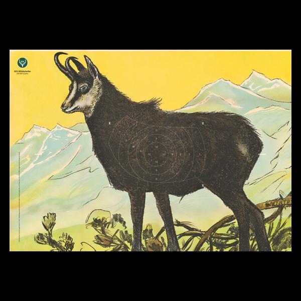 DJV-KK-Wildscheibe Nr. 4 (Gams)