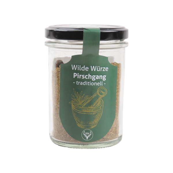"""Wild auf Wild - Wilde Würze """"Pirschgang - traditionell"""""""