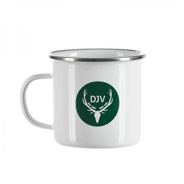 DJV-Emaille-Tasse