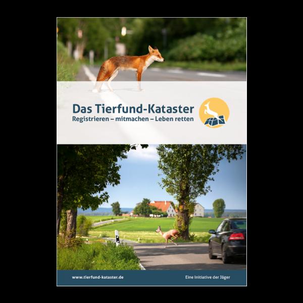 """Broschüre """"Tierfund-Kataster"""""""