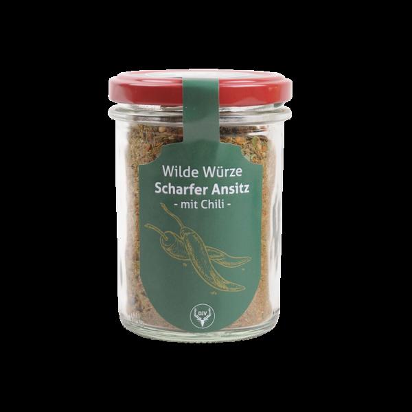"""Wild auf Wild - Wilde Würze """"Scharfer Ansitz - mit Chili"""""""