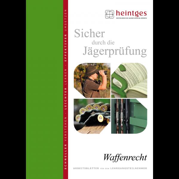 """Arbeitsblätter Jägerprüfung """"Waffenrecht"""""""